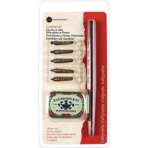 Manuscript Pen MDP2076 Manuscript Oblique Dip Pen Set