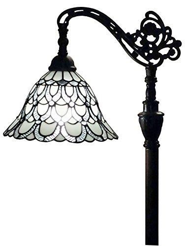Amora Lighting AM107FL11 Tiffany Style Floor Lamp 62 In Adjustable Shade