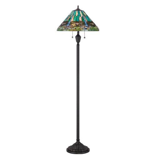 Quoizel TF1508FVB King Tiffany Floor Lamp