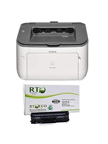 Renewable Toner LBP6230dw Check Printer Bundle with Compatible 126 CRG-126 3483B001 MICR Toner Cartridge for Check Printing