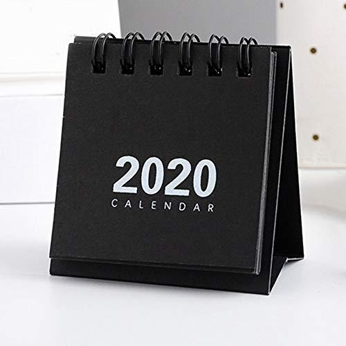 2020 New Simple Mini Calendar 6864cm Creative Desk Vertical Paper Multi-Function Storage Box Timetable Plan Notebook
