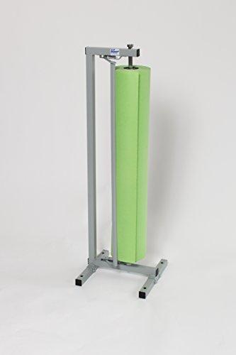 Single Paper Roll Vertical Paper DispenserCutter 20 for 15 18 20 - Bulman-R996-20-No Casters