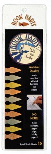 Book Darts - Line Marker Bookmarks 18 Book Darts