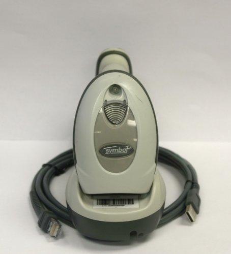 Motorola Symbol Barcode Scanner LS4278 USB Wireless W STB4278 Cradle Biege
