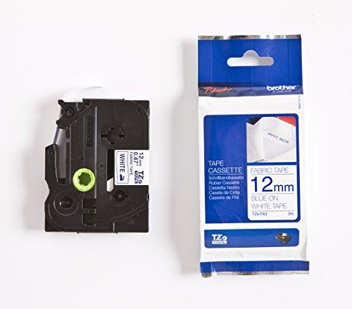 Brother TZe-FA3 Fabric Tape 12mm Tape Cassette