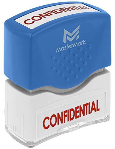 Confidential Stamp - MasterMark Premium Pre-Inked Office Stamp