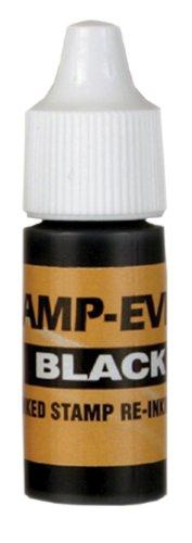 Stamp-Ever Pre-Inked Refill Ink 7ml Bottle Black 5027