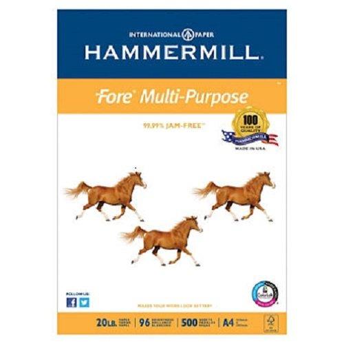 Hammermill 20 lb  A4 Size Paper Ream 500 Sheets White A420NPR