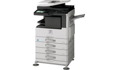 Sharp MX-M264N Black and White Laser Printer Copier Scanner 26PPM A3 A4 - Refurbished