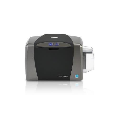 Fargo DTC1250e Single Sided USB Card Printer with Supplies Bundle 50605