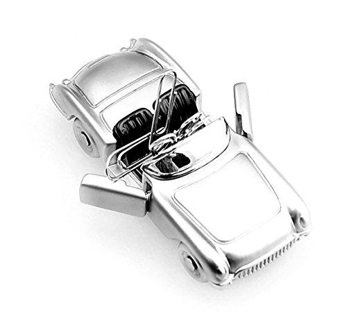 Mini Roadster Convertible Magnetic Paper Clip Car Dispenser  holder corvette Desk Supplies Organizer
