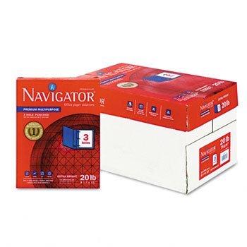 Navigator Premium Multipurpose Paper PAPER2097BR3-HOLEBRW Pack of2
