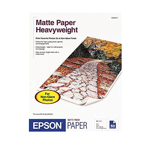 Epson MATTE PAPERHEAVYWEIGHTLETTER SIZE