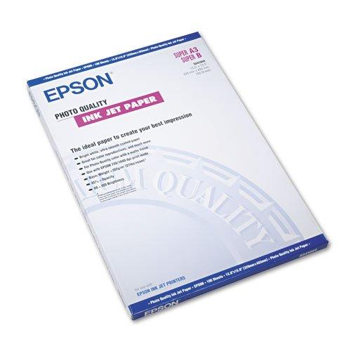 Epson - Matte Presentation Paper 27 lbs Matte 13 x 19 100 SheetsPack S041069L DMi PK