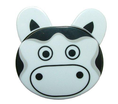 Metro Zoo Retractable Small Tape Measure 2 - White Cow