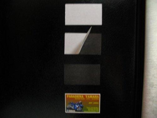 Premium Adhesive Business Card Magnets 30 Mil 125 Pk
