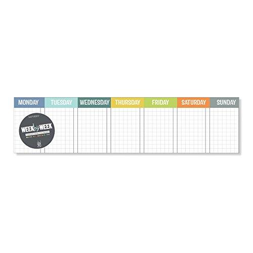 Week By Week - Color - Notepad by Skel Design