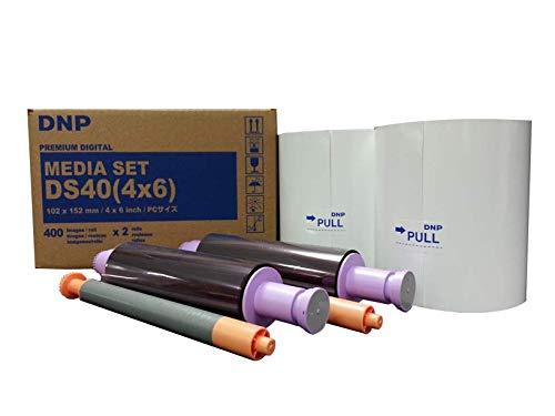 DNP 2X 4x6 Print Pack for DS-40 Dye Sub Printer 800 Glossy Prints