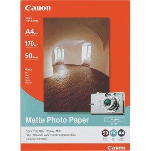 Genuine Canon MP-101 Printhead Print Head Alignment Matte Paper Sheet for Inkjet Printer