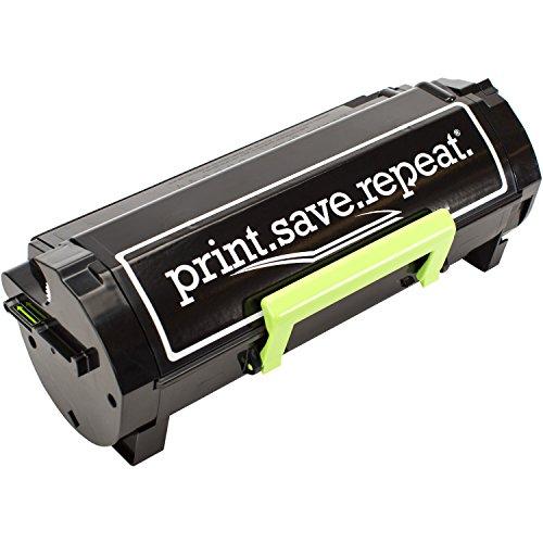 PrintSaveRepeat Lexmark 601H High Yield Remanufactured Toner Cartridge for MX310 MX410 MX510 MX511 MX610 MX611 10000 Pages