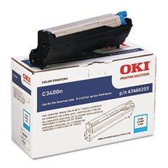 Cyan Drum Kit for Okidata C3400 C3530n C3600n Printer 43460203