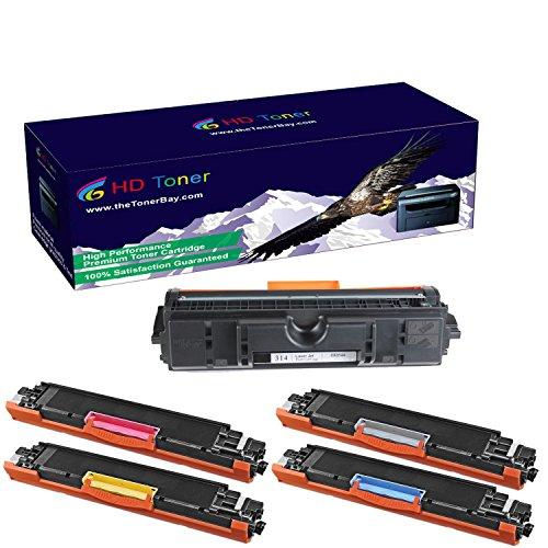 HD Toner TM Compatible 1Set1Drum CE310A-CE313A Toner Cartridges and CE314A Drum For HP 126A CE310 CP1020 CP1025