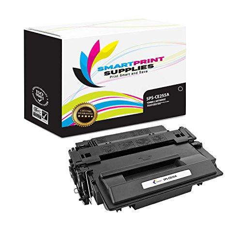 Smart Print Supplies Compatible 55A CE255A Black Toner Cartridge Replacement for HP Laserjet P3010 P3015 P3015D P3015DN P3015X Printers 6500 Pages