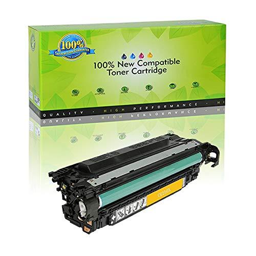 Nineleaf Compatible Toner Cartridge for 504X CE250X Color Laserjet CP3530 CM3530 CM3530FS CP3525 CP3525N CP3525DN CP3525X CP3520 CM3530FS MFP 1 Pack Black