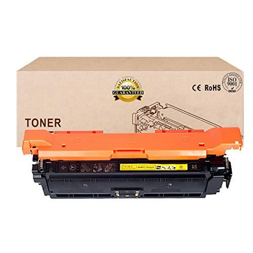 Compatible Toner Cartridges Replacement for HP 646X 646A CE264X CF031A CF032A CF033A Toner Cartridge for HP Color Laserjet CM4540 CM4540F CM4540FSKM MFP TonerYellow