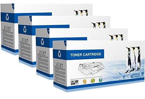 Supply Spot offers SET Compatible CE264X CF031A CF032A CF033A Toner Cartridges - 646 - For HP LaserJet Enterprise CM4540 Printers