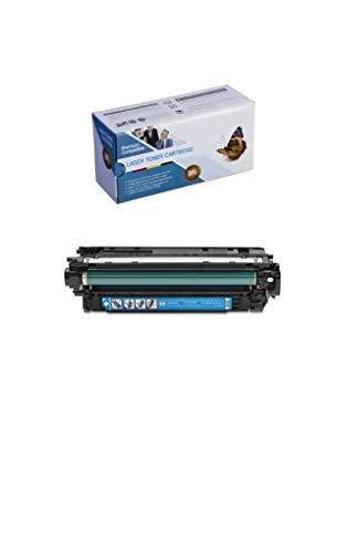 Tonerprice Compatible CF031A 646A Toner Cartridge 12500 Page-Yield Cyan