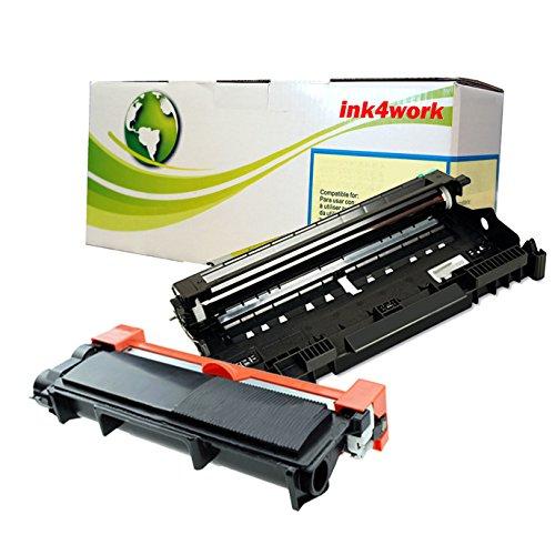 INK4WORK DR630 Drum TN660 TN-660 Compatible Toner Cartridge Replacement for Brother HL-L2300D HL-L2320D HL-L2340DW HL-L2360DW HL-L2380DW MFC-L2700DW MFC-L2720DW MFC-L2740DW DCP-L2520DW