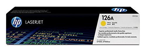 HP 126A CE312A Yellow Original LaserJet Toner Cartridge