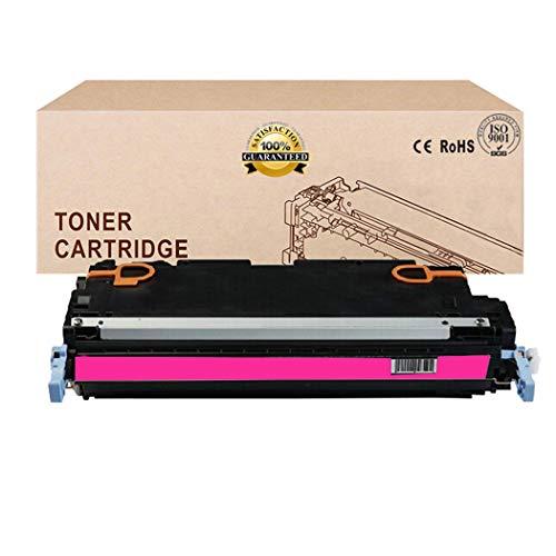 Compatible Toner Cartridges Replacement for HP 501A Q6470A Q6471A Q6472A Q6473A Toner Cartridge for HP Color Laserjet 3600 3800N 3800DN CP3505 TonerMagenta