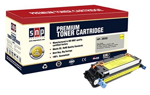SNP Compatible Toner Cartridge HP 3600 Q6470A HP502A Set of 1Yellow 1Y HP Q6472A Compatible with-HP 3600 3600N 3600DN 3800 3800N 3800DN 3800DTN CP3505 CP3505N CP3505DN CP3505X
