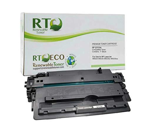 Renewable Toner Compatible Toner Cartridge Replacement for HP Q7570A   Black  1 pk