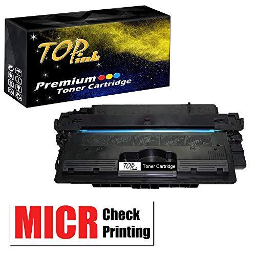 TopInk Compatible Q7570A MICR Toner Cartridge Replacement for Q7570A Printer Toner Cartridge-1 Pack