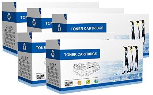 Supply Spot Compatible SET CE310A CE311A CE312A CE313A - Black Cyan Magenta Yellow Toner Cartridges 126A -  1 Drum Unit CE314A