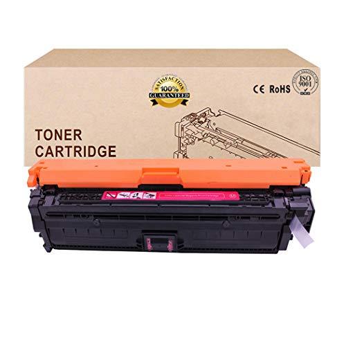 Compatible Toner Cartridges Replacement for HP 651A CE340A CE341A CE342A CE343A Toner Cartridge for HP Laserjet Enterprise 700 Color M775DN M775F M775Z M775Z TonerMagenta