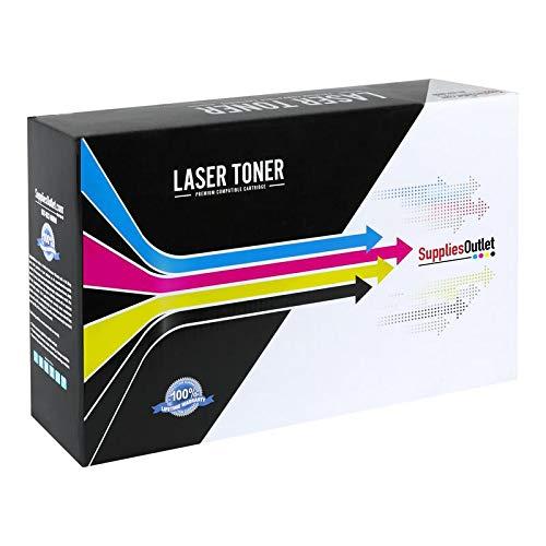 SuppliesOutlet Compatible Toner Cartridge Replacement for HP 651  CE340A  CE341A  CE342A  CE343A CMYK4 Pack