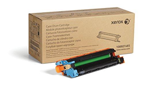 Xerox Genuine Cyan Drum Cartridge 108R01485 - 40 000 Pages for Use In Versalink C600C605 Toner
