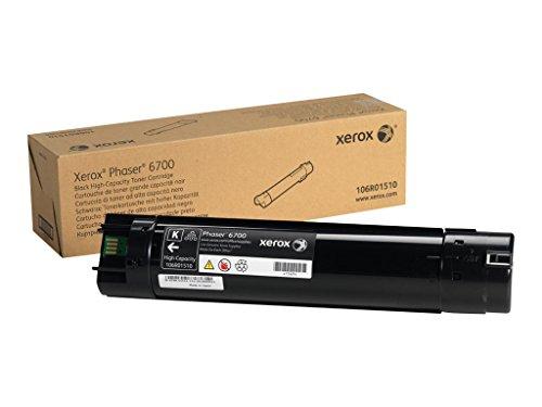 Genuine Xerox High Capacity Black Toner Cartridge for the Phaser 6700 106R01510