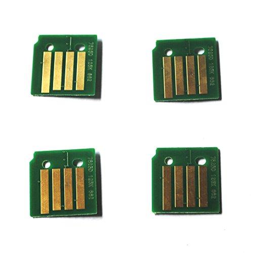 INKTONERCHIP- 4x Toner Chip for Xerox Phaser 6700 6700N 6700DX 6700DN 106R01507-106R01510