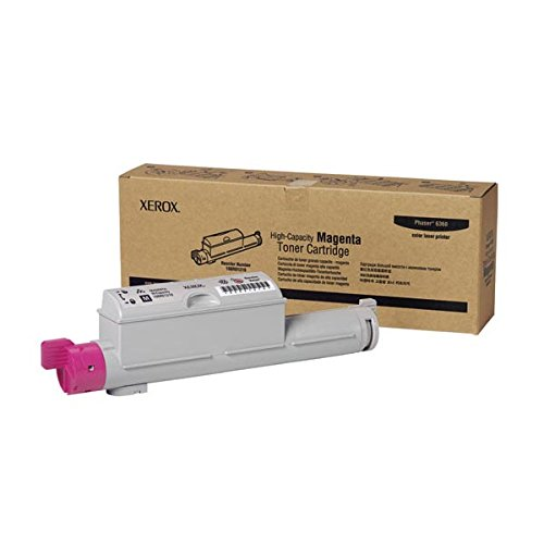 Xerox 6360 Toner Cartridge High-Capacity Magenta1-Pack