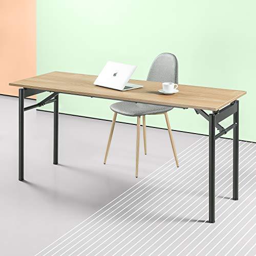 Zinus Mare Folding Desk 63 Inch Computer Workstation Table