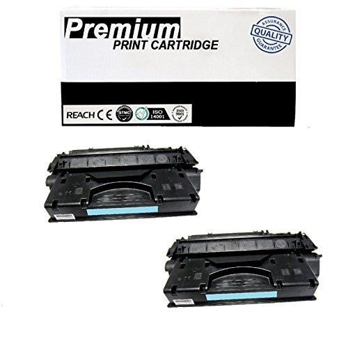 DS 2pk Q7553A Toner Cartridge for HP LaserJet P2015x Printer