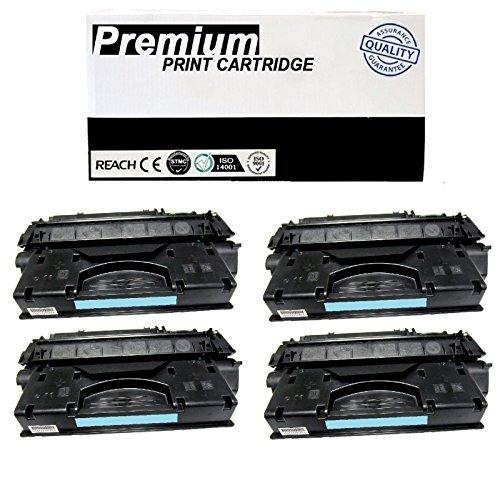 DS 4pk Q7553A Toner Cartridge for HP LaserJet P2015x Printer