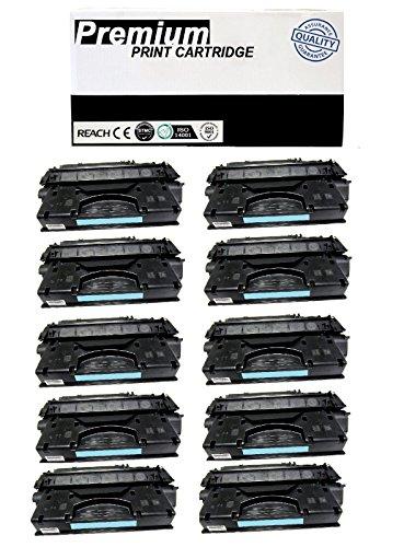 JSL 10pk Q7553A Toner Cartridge for HP LaserJet P2015x Printer