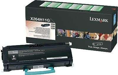 Lexmark International X264H11G High Yield Return Toner Cartridge X264dn X363dn X364dn X364dw