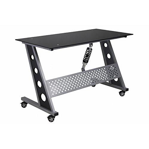 Pitstop Furniture IND1200B Black Compact Desk